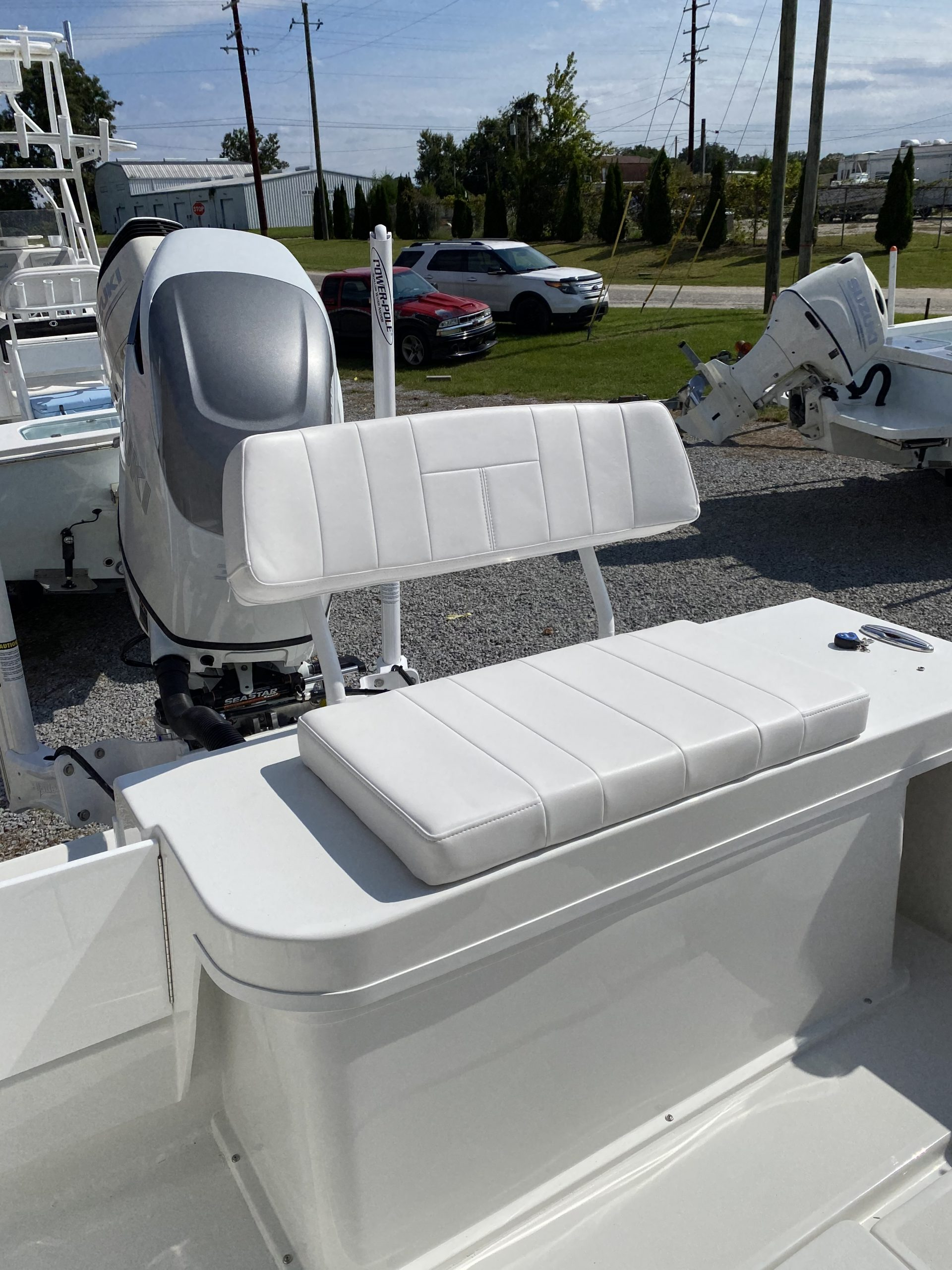Removable Stern Bench Seat (Over Livewell)