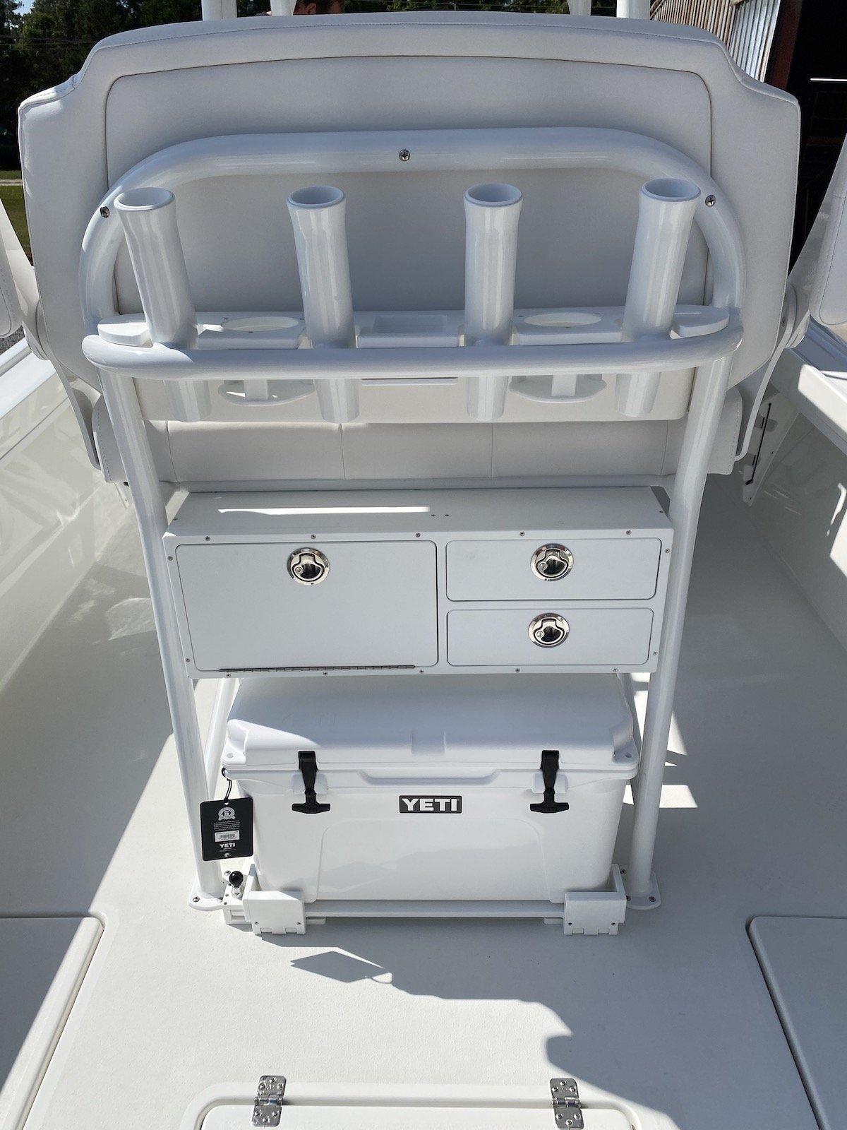 Tackle Cabinet, Cooler Slide, Cup Holder Combo